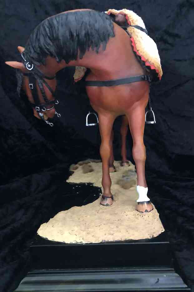 Cheval cuirassier 180mm1