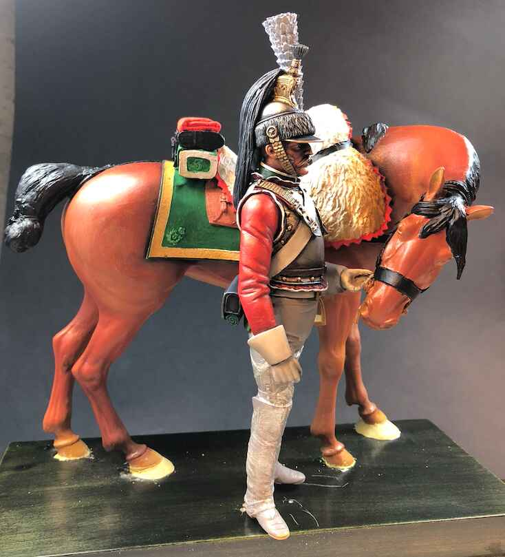 Cheval cuirassier 180mm5